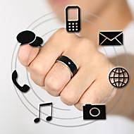 anillo inteligente dispositivo portátil inalámbrico resistente al agua no puede competir con cargo al reloj inteligente de color negro