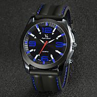 relógio relógio de vestido de alça de silicone moda masculina