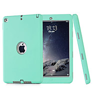 3 in 1 Combo Wave Pattern PC & Silicone Case with Stand for iPad Air2