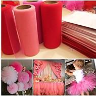 Organza Decoración Ceremonia-1Piece / Set Fiesta de Despedida de Soltera Baby Shower Graduación Cumpleaños San Valentín Boda
