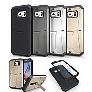 Mert Samsung Galaxy tok Ütésálló / Állvánnyal Case Hátlap Case Páncél PC Samsung S6
