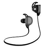 generiske in-ear stereo sport / motion bluetooth V4.1 hovedtelefoner - sort / hvid
