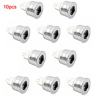 10pcs HRY® 3W MR11 350LM Light LED Spot Lights(12V)