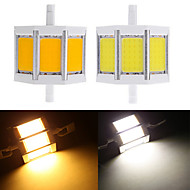 1 pcs Ding Yao R7S 10W 3 COB 650-750LM Warm White/Cool White A Corn Bulbs AC 85-265V