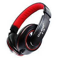 OVLENG x13 Mode 3,5 mm Audio-Buchse für Stereokopfhörer w / Mikrofon für Smartphone / iPod / Computer - schwarz + rot