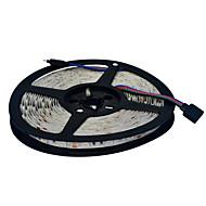 JIAWEN® 5 M 300 5050 SMD RGB Leikattava / Yhdistettävä 60 W Joustavat LED-valonauhat DC12 V