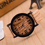Unisex  Watches Wood Grain Wrist Watch Synthetic Leather Strap Man Watch Women Watch Anniversary Gifts Cool Watch Unique Watch Fashion Watch