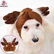 Γάτες / Σκυλιά Στολές / Σύνολα / Μπαντάνες & Καπέλα Καφέ Ρούχα για σκύλους Χειμώνας Στολές Ηρώων / Γάμος / Halloween