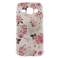 For Samsung Galaxy etui Mønster Etui Bagcover Etui Blomst PC for Samsung J1 Grand Prime Core Prime Core LTE