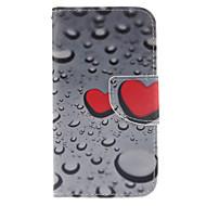 Na Samsung Galaxy Etui Etui na karty / Portfel / Z podpórką / Flip Kılıf Futerał Kılıf Serce Skóra PU Samsung Core Prime