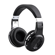 h bluedio + cuffia bluetooth v4.1 w / FM / mic / tf - nero