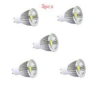 5W GU10 / GU5.3(MR16) / E26/E27 Focos LED MR16 1 COB 400LM lm Blanco Cálido / Blanco Fresco AC 85-265 V 5 piezas