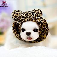 고양이 / 개 반다나&모자 레드 / 핑크 / 그레이 강아지 의류 겨울 웨딩 / 코스프레