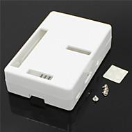 abs case / boks for Raspberry Pi 2 modellen b&Raspberry Pi b + -white