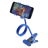 Universal 360 Degree Rotation Flexible Neck Clip Desk / Bedside Handsfree Holder for Phone (Assorted Colors)