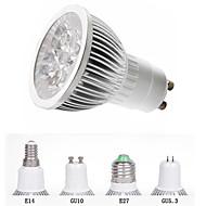 Focos HRY MR16 E14 / GU10 / GU5.3 / E26/E27 5 W 5 LED de Alta Potencia 550 LM Blanco Cálido / Blanco Fresco AC 85-265 V 1 pieza