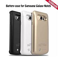 4200mAh externe draagbare back-up batterij Case voor Samsung Galaxy note5 (verschillende kleuren)
