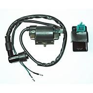 bobina de ignição universal caixa ac cdi + 5 pinos para honda sujeira bicicleta do poço 110cc