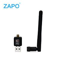Zapo W90 Foreigntrade vendite di potere del usb scheda di rete wireless desktop di wifi di routing ricevitore emissione