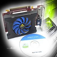 nvidia GT210 1024m GDDR3 64bit pci express x16 placa gráfica - vermelho + azul + preto