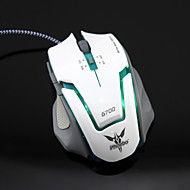 6D Woolen Rope-end Gaming Mouse Athletics USB PC-backlit High-precision Mouse ESports Gaming Mouse