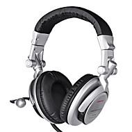 jogos hi-fi fones de ouvido com fio com microfone em linha&ruído controle de volume da orelha cancelando fones de ouvido fone de