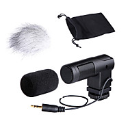 Boya audio stereo x / y kondensatormikrofon for-V01 til 3,5 mm mini-indgange DSLR-kameraer