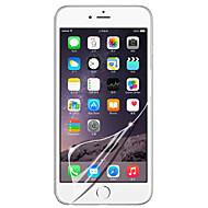 [3-חבילה] מגן קריסטל LCD שקיפות גבוהה המקצועי ברור מסך עם מטלית ניקוי עבור 6 / 6s iPhone