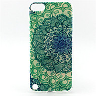 Mandala Painting Pattern TPU Soft Case for iPod Touch 5