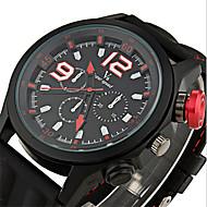 V6 Muškarci Ručni satovi s mehanizmom za navijanje Kvarc Japanski kvarc Silikon Grupa Crna Obala Crn Plava