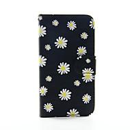 Για Samsung Galaxy Θήκη Πορτοφόλι / Θήκη καρτών / με βάση στήριξης / Ανοιγόμενη tok Πλήρης κάλυψη tok Λουλούδι Συνθετικό δέρμα SamsungS6