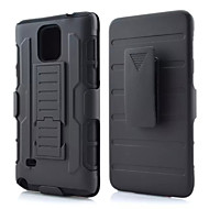 DE JI TPU+PC 3 in 1 Armor Heavy Duty Rugged Impact Belt Clip Case Cover For Samsung Galaxy Note 3/Note 4/Note 5