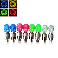 Cap Lights / Wheel Lights / Valve Cap Flashing Lights LED - Cycling Easy Carrying AG10 50LM Lumens Battery Cycling/Bike / Motocycle