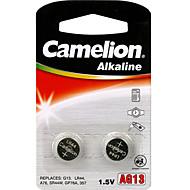 Camelion tamanho de célula botão alcalina AG13 (2pcs)