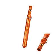 acqua all'aperto barra di magnesio resistente avviamento selce fuoco con fischio&alcool cotone - (arancione&nero)
