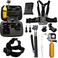 Telescopic Pole Chest Harness Front Mounting Case/Bags Straps Mount/Holder Waterproof Floating For Gopro Hero 2 Gopro Hero 3 Gopro Hero