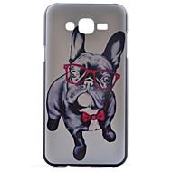 Voor Samsung Galaxy hoesje Patroon hoesje Achterkantje hoesje Hond PC Samsung J7 / J5 / J1