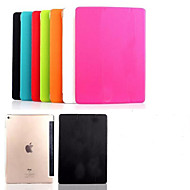 solide couleur de haute qualité super slim cas stand pour iPad intelligente air 2 (couleurs assorties)