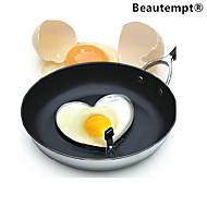 smażone formy w kształcie serca ze stali nierdzewnej jaj