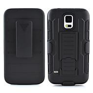 de ji tpu + pc 3 i 1 rustning kraftig robust effekt bælteklips tilfælde dække til Samsung Galaxy s6 kant plus / s6 kant / s6 / s5 / s4