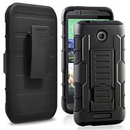 Pour Coque HTC Antichoc Avec Support Coque Coque Arrière Coque Armure Dur Polycarbonate pour HTC