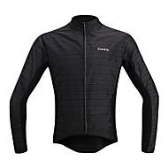 SANTIC Vélo/Cyclisme Veste / Hauts/Tops Homme Manches longuesEtanche / Respirable / Résistant aux ultraviolets / Pare-vent / Bandes