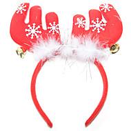 jul fjær gevir bell hår ornament