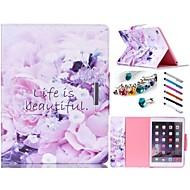 speciális kialakítás újdonság Folio tok műbőr színes rajz vagy minta oldaltáska iPad mini / 3 / 2/1