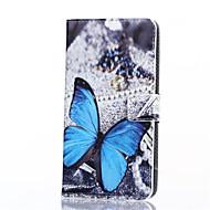 niebieski motyl wzór pu skóra pełna pokrywa ciało z podstawką do Samsung Galaxy on7 / J3 / G530 / ON5 / asa / g360 J1