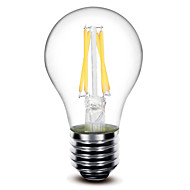 1 pcs SHENMEILE E26/E27 4 W 4 COB 400 LM Warm White A60 Dimmable LED Filament Bulbs AC 220-240 V