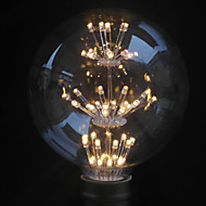 1 pcs Belf E26/E27 2 W 47PCS Dip LED 160Lm LM Warm White G125 Decorative Globe Bulbs AC 220-240 V
