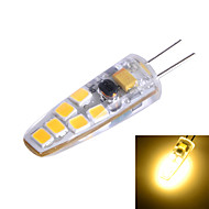Marsing® G4 Silicone Seal 3W 200lm 3500K/6500k 12x SMD 2835 LED Warm/Cool White Light Bulb Lamp (AC/DC 12V)