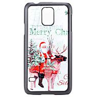 Voor Samsung Galaxy hoesje Patroon hoesje Achterkantje hoesje Kerstmis PC Samsung S5