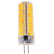 1 stk g4 12 w 80 smd 5730 1 200 lm varmhvit / kaldhvit t dimmes / dekorative bi-pin lys ac 110-130 v